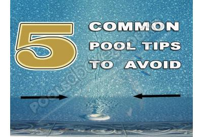 5 Common Pool Tips to Avoid