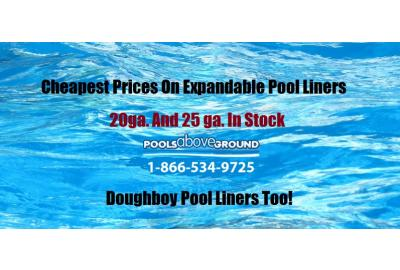 Expandable Overlap Pool Liners For Above Ground Pools