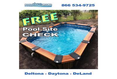 Deltona Pool Site Check