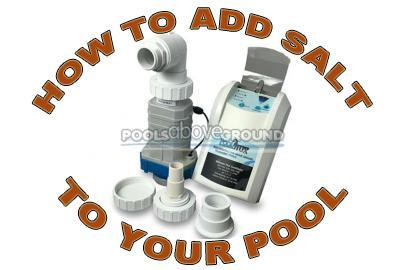 How to Add Salt to Your Above Ground Pool