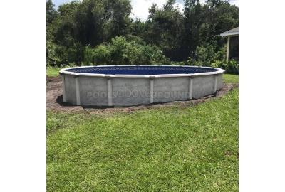 Semi-InGround Above Ground Pools