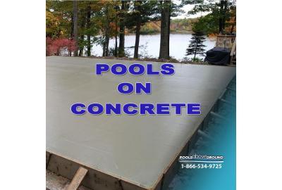Above Ground Pools On Concrete