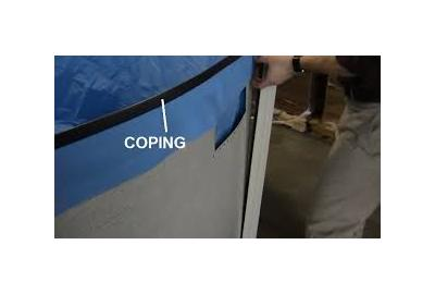 Coping Strips For Above Ground Pool Liners