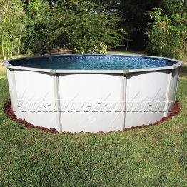"24' Round 52"" Deep Caribbean Pool"