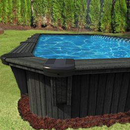 "8'x12' Rectangle 52"" Deep Somoa Pool"