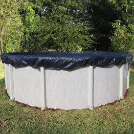 30' Round Blue Pool Cover 10 Year