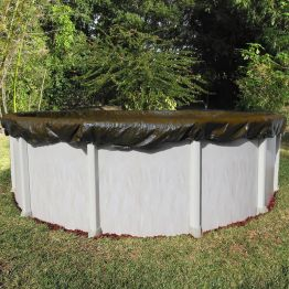 24' Round Ultra Premium 25 Year Pool Cover