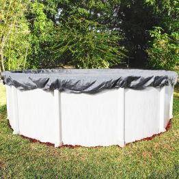 15' Round Silver 15 Year Pool Cover